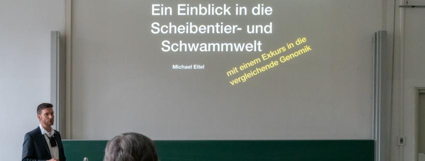 Vortrag Scheibentier- und Schwammwelt