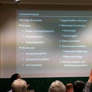 Vortrag Dr. Adriana Lopez-Arbarello - Einführung in die Methoden der Phylogenetik