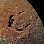 Fossil des Monats Februar 2021: Oxycerites - Ausschnitt
